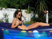 Kaya Scodelario in bikini