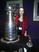 SARAH HUGHES and the Stanley Cup (1 HQ)