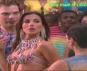 Tania Khalill sexy na novela Senhora do Destino