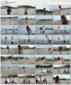 Japanese Exhibitionism and public outdoor sex 09