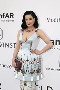 Dita Von Teese _ Amfar's Cinema against AIDS Gala _ Antibes , France  05/21/2015
