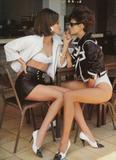 Christy Turlington with Linda Evangelista: Vogue (UK) 05/1990, ph. Patrick Demarchelier Foto 105 (Кристи Тарлингтон с Линда Евангелиста: Vogue (Великобритания) 05/1990, тел.  Фото 105)