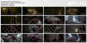 Rape in a dark den