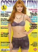 Mischa Barton -  French Cosmo cover August 2008 - shorts and bra