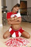 CheerleaderFacials.com 2012 06 24 Ebony Cheerleader With Bigtits